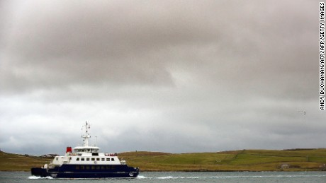 Ferry is one of only ways to reach Fair Isle, which is part of the Shetland Islands