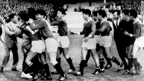 In one of football's great upsets, North Korea beat Italy in the 1966 World Cup.