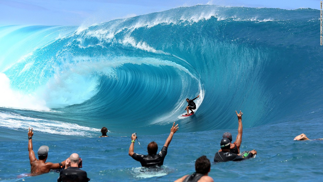 <strong>Teahupo'o (Tahiti): </strong>Riding the waves at Teahupo'o -- aka the world's heaviest and deadliest surf spot -- can either be the most memorable surf in your life or the most horrific wipeout.