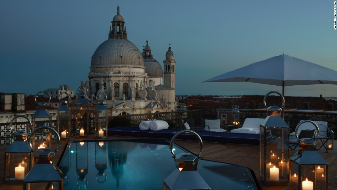 <strong>Gritti Palace</strong> -- Built in 1475, this stunning palazzo is one of the most luxurious and romantic hotels in Venice with sweeping views of the storied city.