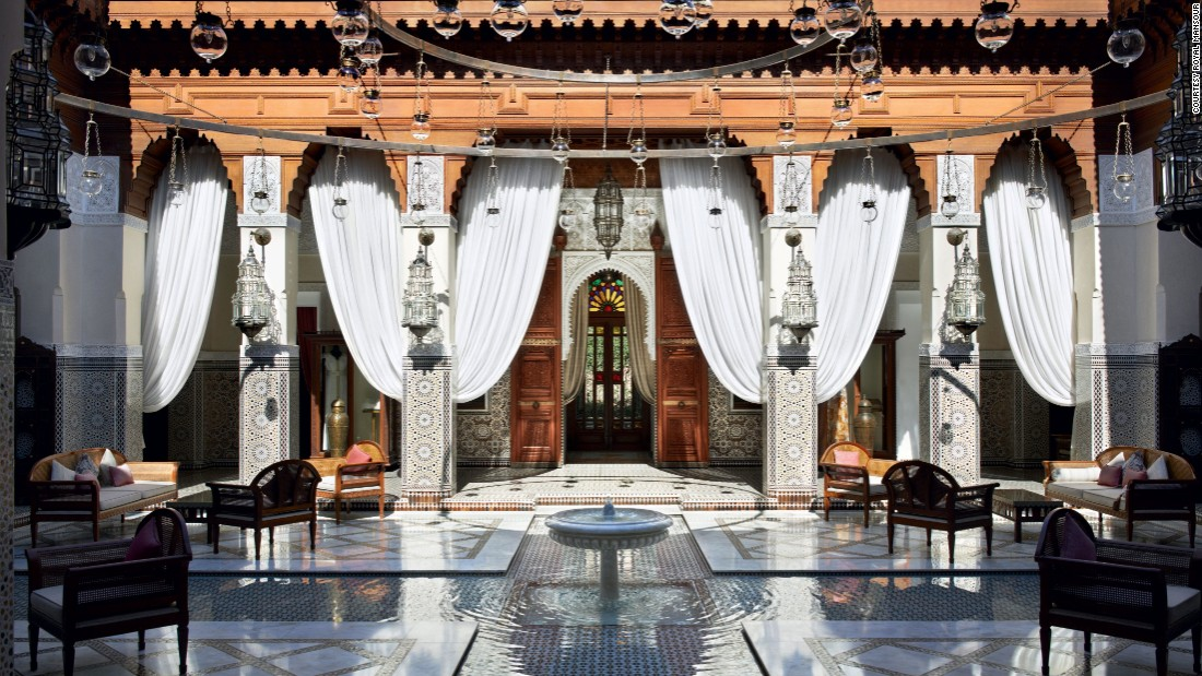 <strong>Royal Mansour </strong>-- The Royal Mansour in Marrakech, Morocco, is an oasis of 53 elegant private residences, or riads.