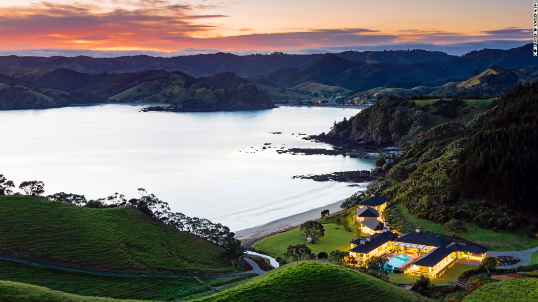 <strong>Helena Bay Lodge </strong>-- With no more than 10 guests on the property at a time, this hotel on New Zealand's North Island offers couples the utmost privacy.