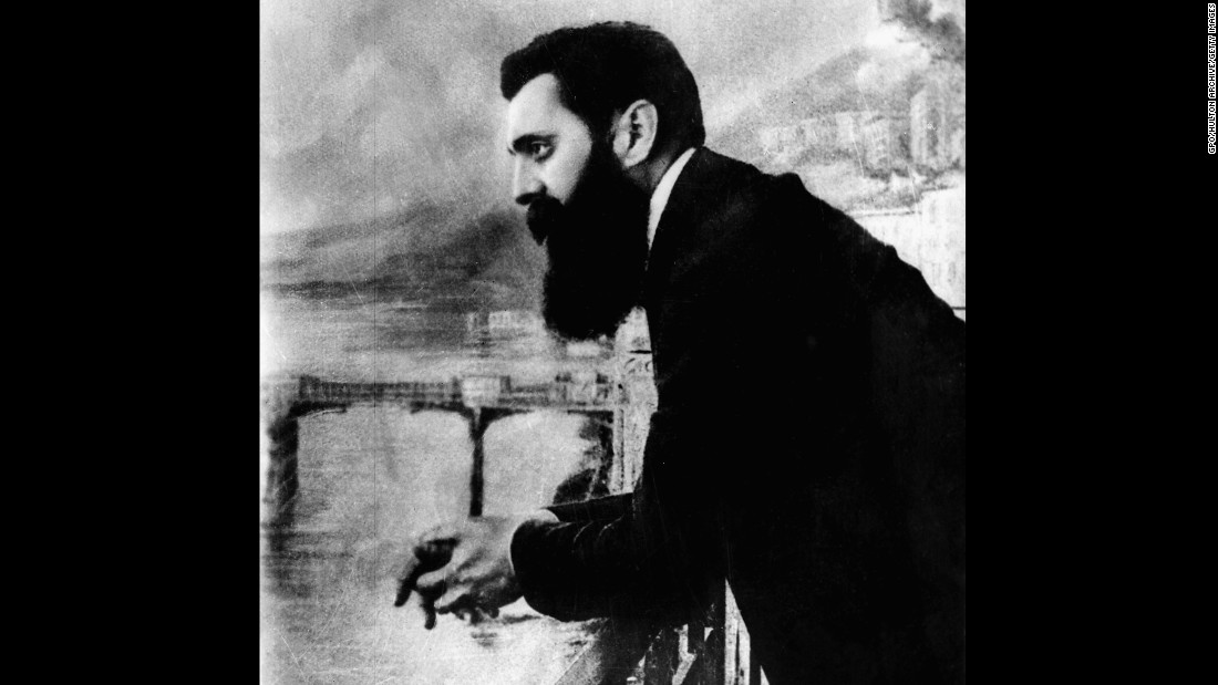 "In ""The Jewish State,"" a political pamphlet, Theodor Herzl, a Viennese journalist, prophesies the creation of the modern state of Israel."
