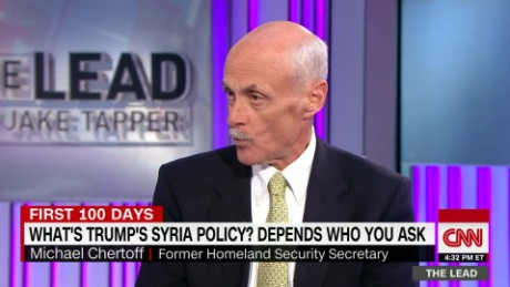 former DHS secretary michael chertoff president trump foreign policy the lead_00005525