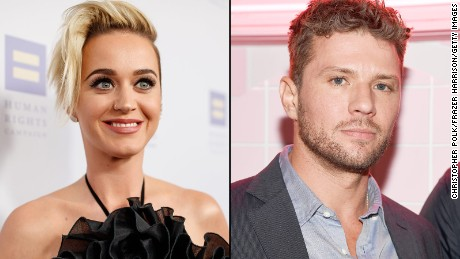 Katy Perry and Ryan Phillippe swear they are not an item.