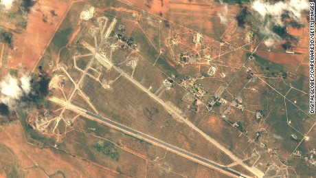 US official: No more chemical weapons activity observed at Syrian airbase