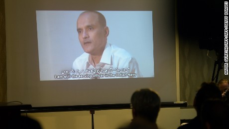Indian national Kulbushan Jadhav was sentenced to death for spying in Pakistan.