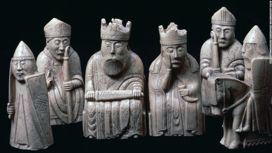 "According to the British Museum, the Lewis Chessmen -- presumed to have been made in Norway around 1150-1200 -- are ""integral"" to its collection and play an ""indispensable part"" in the presentation of the history of cultural achievement."