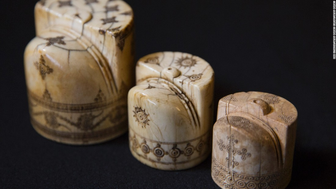 "These Scicilian ivory chess pieces (circa<strong> </strong>1100-1200) were part of the British Museum's ""Sicily: Culture and Conquest"" exhibition in 2016."