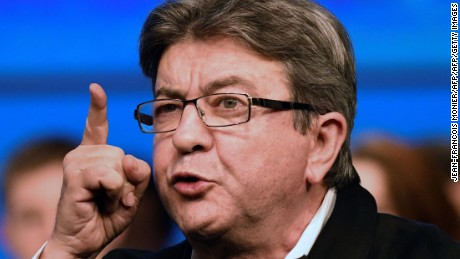 Mélenchon has impressed during the live televised debates against his rivals.