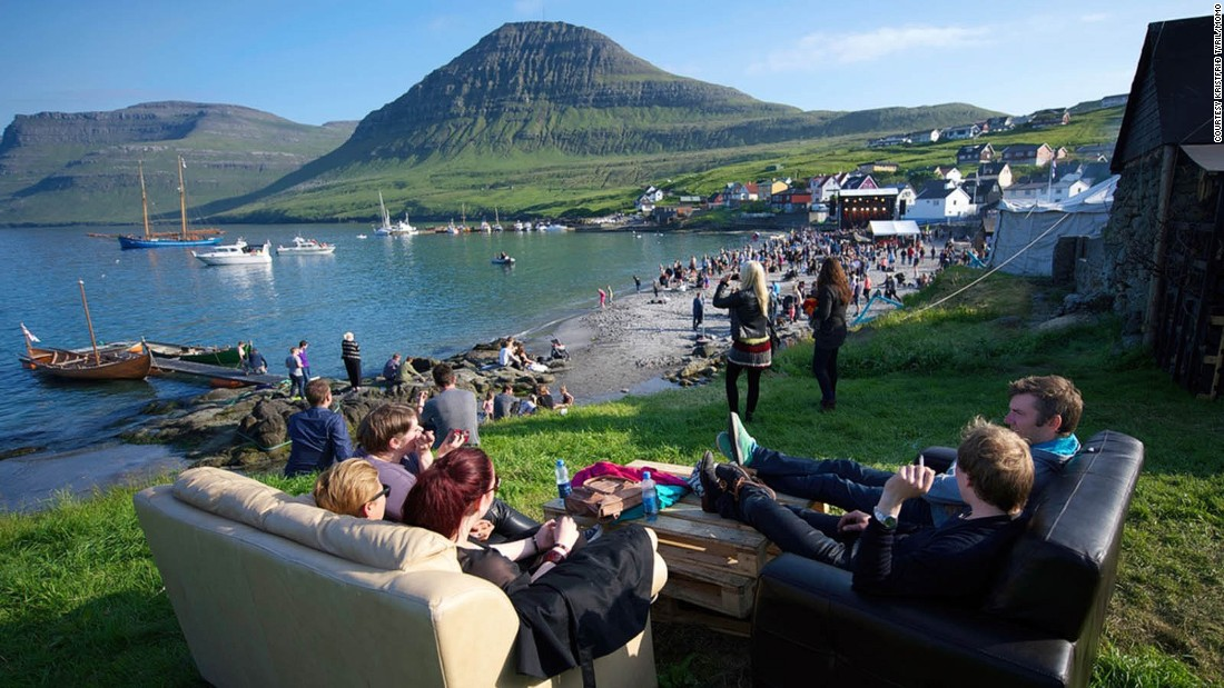 <strong>G! Festival, Faroe Islands, July 13-15: </strong>The small gathering offers more than its lineup -- quintessentially Scandinavian, it also boasts a picturesque seaside backdrop.