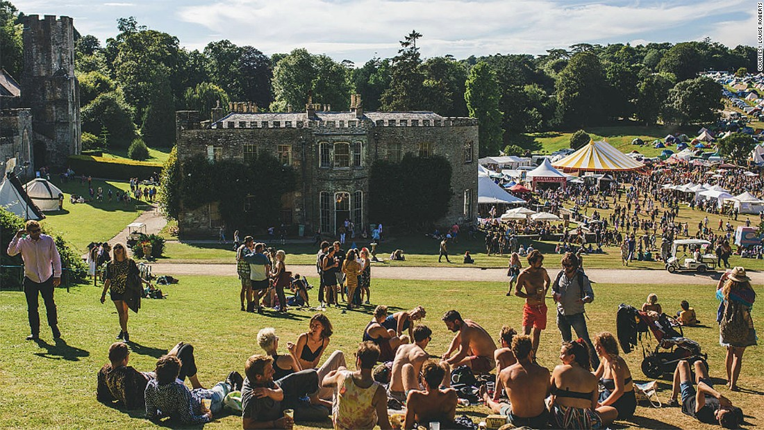 <strong>Port Eliot, Cornwall, UK, July 27-30: </strong>In addition to music performances, the 12th century estate of Port Eliot also hosts a range of exhibitions and workshops from literature to fashion.