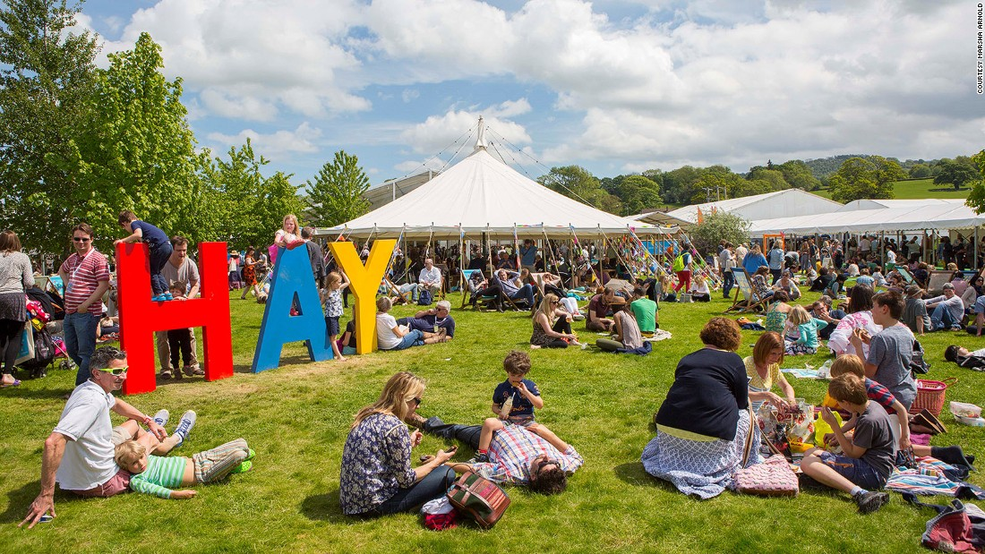 "<strong>Hay Festival, Hay-on-Wye, UK, May 25- June 4: </strong>Dubbed the ""Woodstock of the mind"" by Bill Clinton, the Hay Festival, on the England and Wales border, is a week-long celebration of literature."