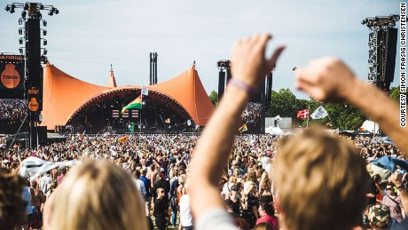 Roskilde Festival is not for the faint-hearted.