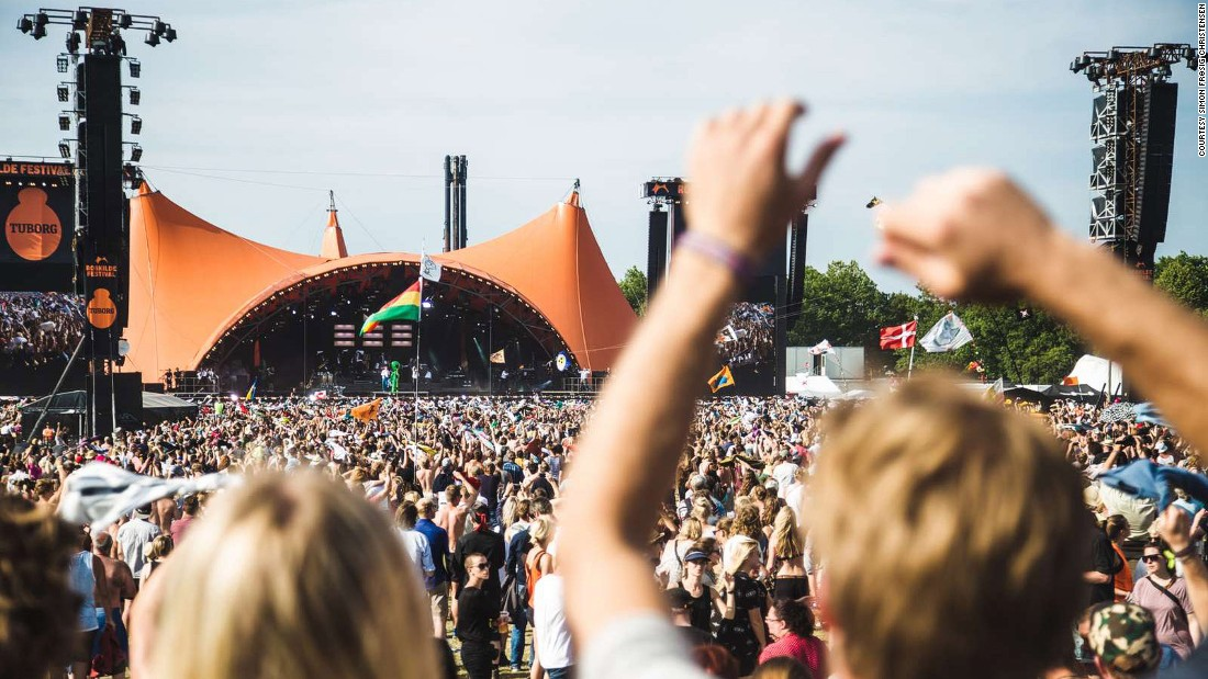 <strong>Roskilde, Denmark, June 24- July 1: </strong>The Danish festival is an eight-day affair with non-stop partying and music shows happening on and off stage.