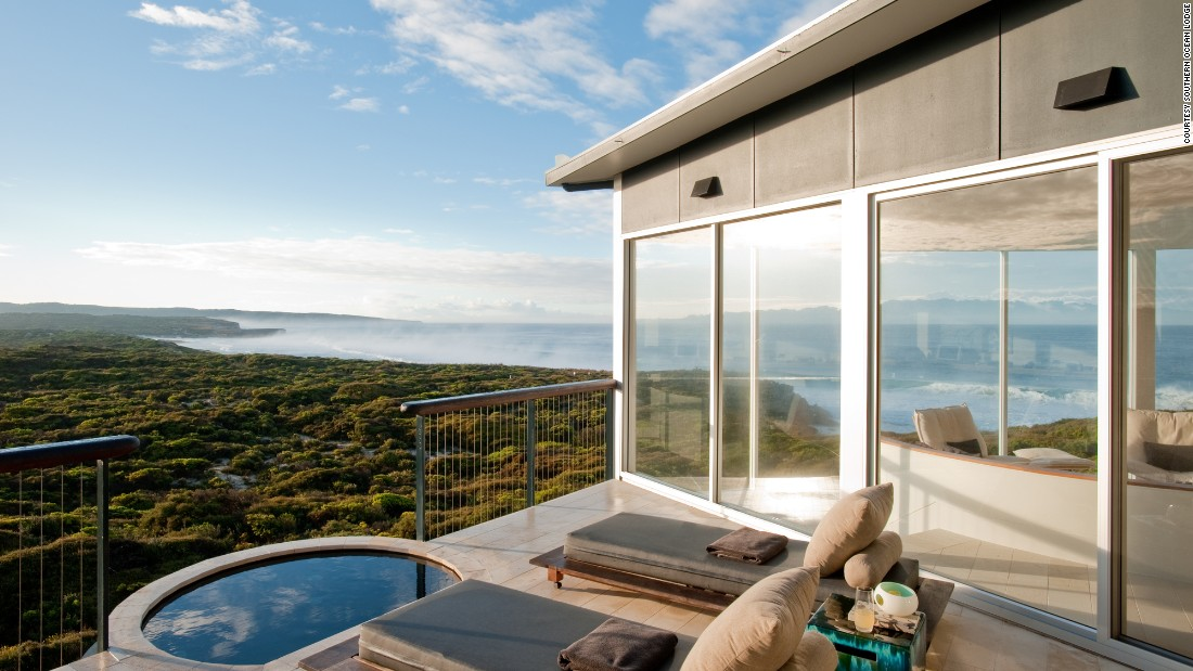 <strong>Southern Ocean Lodge </strong>-- Each of this Kangaroo Island, Australia lodge's glass-fronted suites are cantilevered to ensure jaw-dropping panoramas.