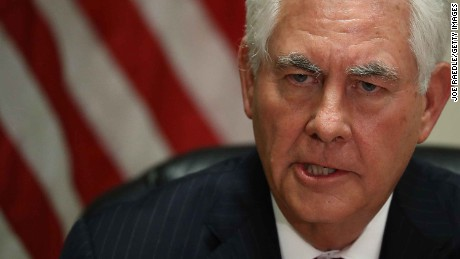Tillerson's tough task in Russia