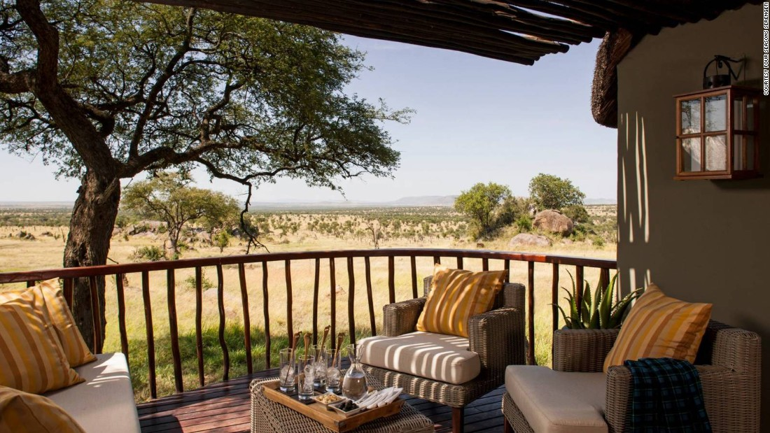 <strong>Four Seasons Serengeti</strong> -- Rooms at this luxurious property in Tanzania all have open-air sundecks and several even offer private infinity pools.