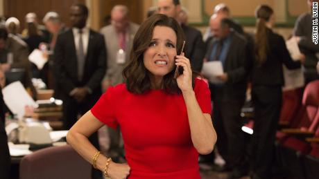 Julia Louis-Dreyfus in HBO's 'Veep'