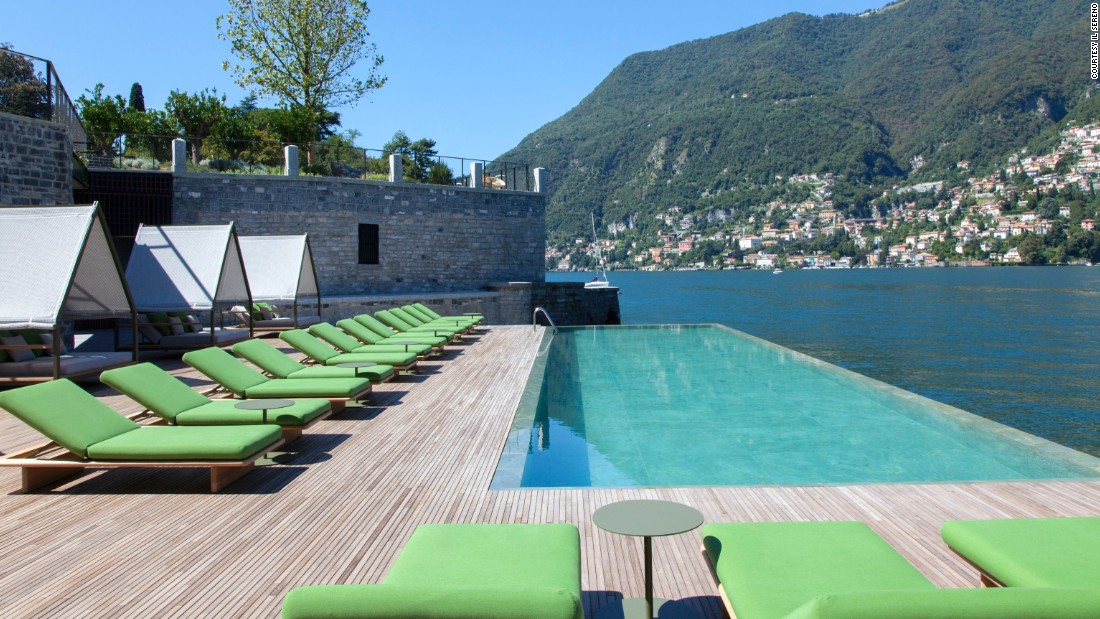 <strong>Il Sireno Hotel </strong>-- This decidedly non-cliché Lake Como, Italy, getaway has just 30 wood-and-stone suites that allow its lakeside setting to steal the show.