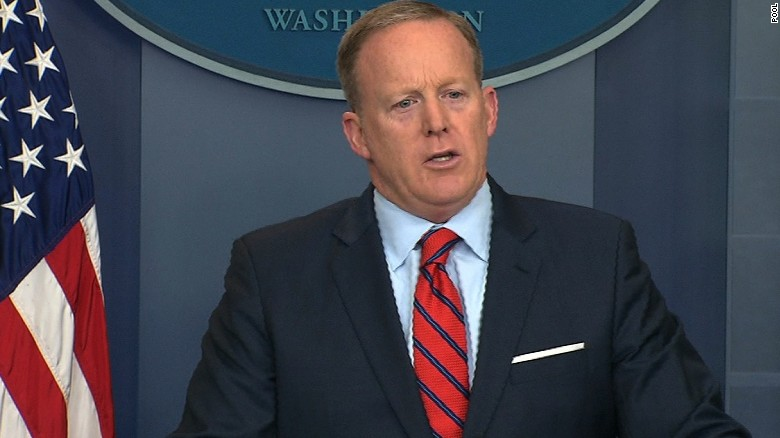Sean Spicer Says 'Let Down' Trump With Hitler Remarks