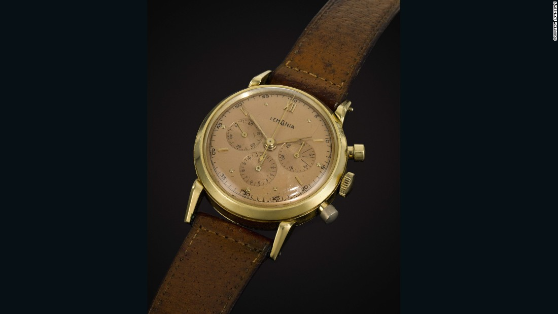 The watch was given to Churchill in 1946 as a thank-you from the Swiss canton of Vaud for his role in the Second World War.