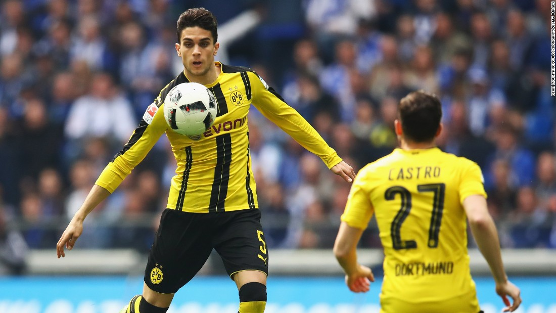 "Spanish defender Bartra, 26, suffered injuries which required surgery. He posted on social media Wednesday thanking fans for their support and said: ""I am doing much better."""
