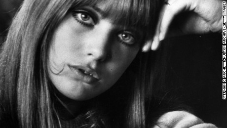 10th March 1966:  Model and actress Jane Birkin.  (Photo by Stephan C. Archetti/Keystone Features/Getty Images)