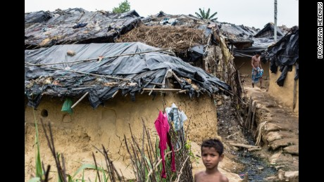 Bangladesh. Cox's Bazar district, 2017. 