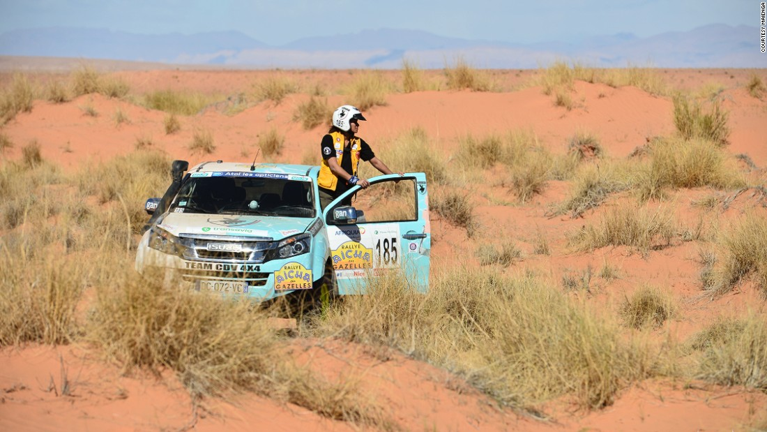 Unlike other rallies, the Rallye Aicha des Gazelles du Maroc doesn't prize speed. Instead, contestants are rewarded for completing each stage while driving the shortest distance.