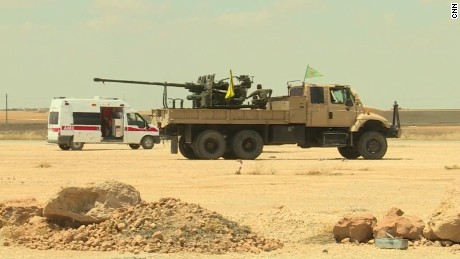 US eyes assault on ISIS stronghold
