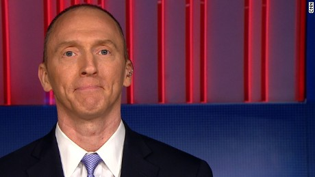 Carter Page now a 'no comment' on FBI investigations