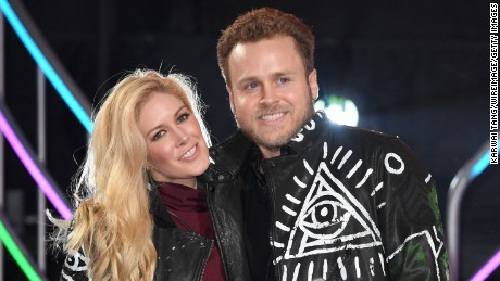 Heidi Montag and Spencer Pratt are the 8th housemates evicted from the Celebrity Big Brother house at Elstree Studios on January 27, 2017 in Borehamwood, England.  (Photo by Karwai Tang/WireImage)