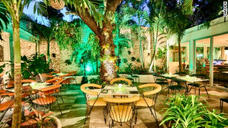 Courtyard Patio in Carmen