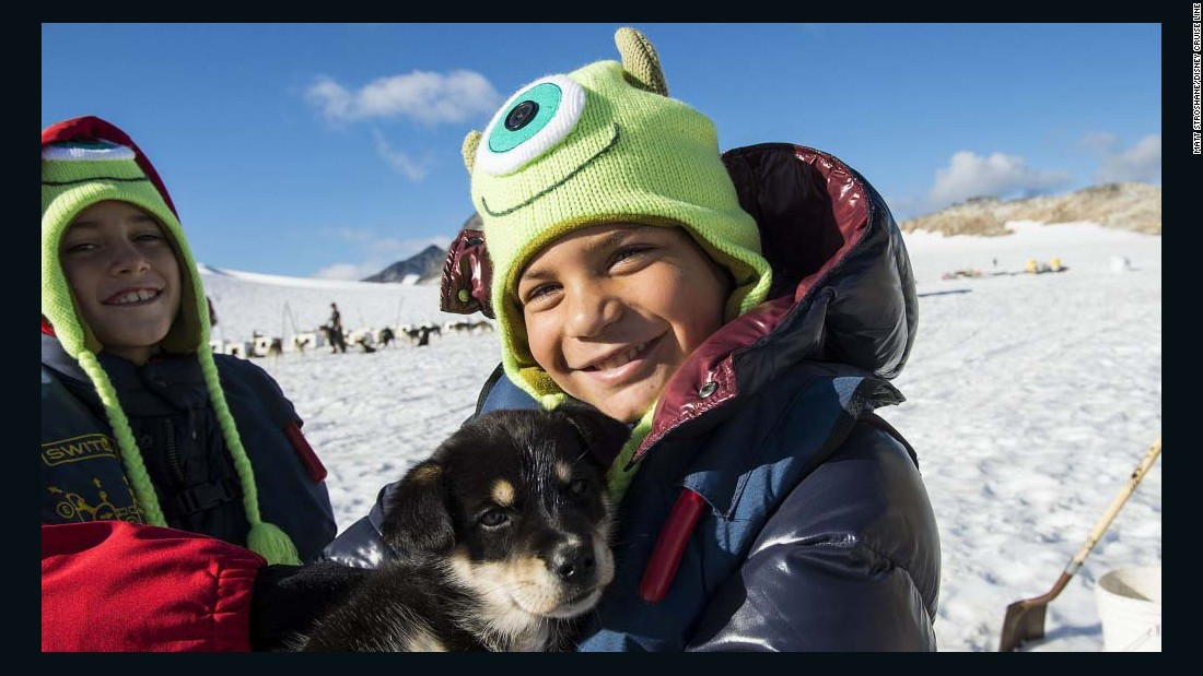 <strong>Disney Cruise Line:</strong> Kids can meet costumed characters -- and adorable sled dogs.