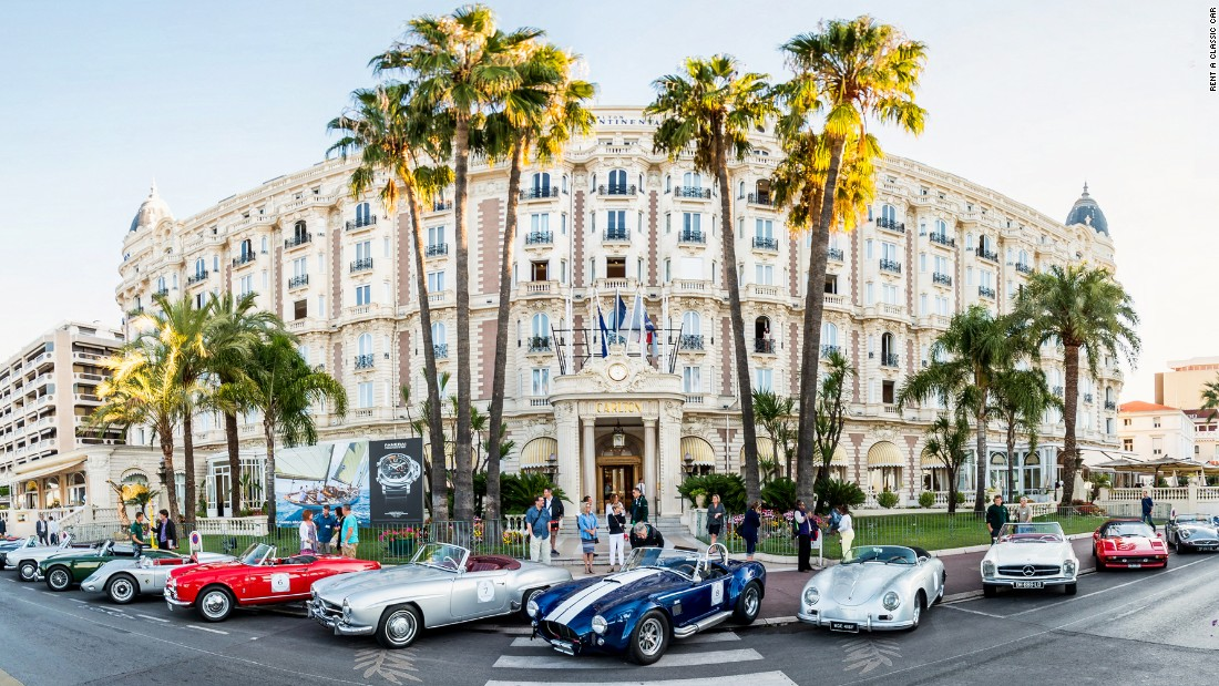 <strong>Getting around in Cannes: </strong>The French Riviera + the Cannes Film Festival + classic cars = a match made in heaven. To make like a film star or movie mogul, cruise in some vintage wheels, buzz around on a Vespa or rent a superyacht.