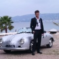 Scott Eastwood classic car Cannes