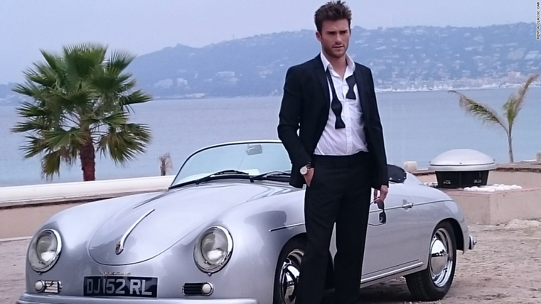 <strong>Son of Clint:</strong> Scott Eastwood is another actor looking the part in the south of France.