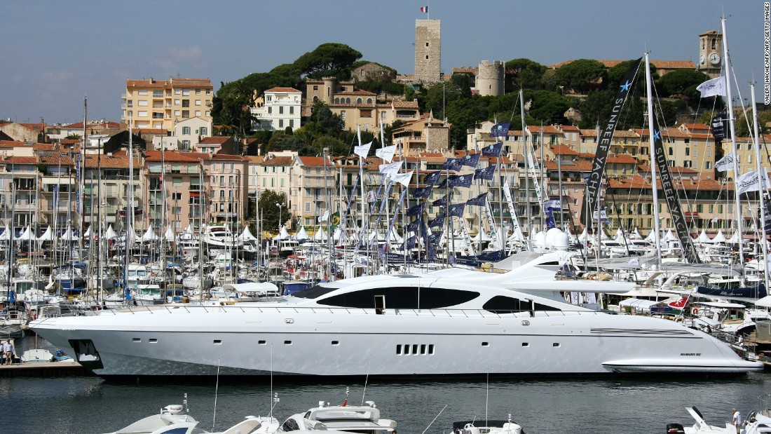 "<strong>Floating hotels: </strong>Some of the luxury yachts for charter in Cannes are like ""eight-star hotels,"" according to Jenny Caird at 212° Yachts."