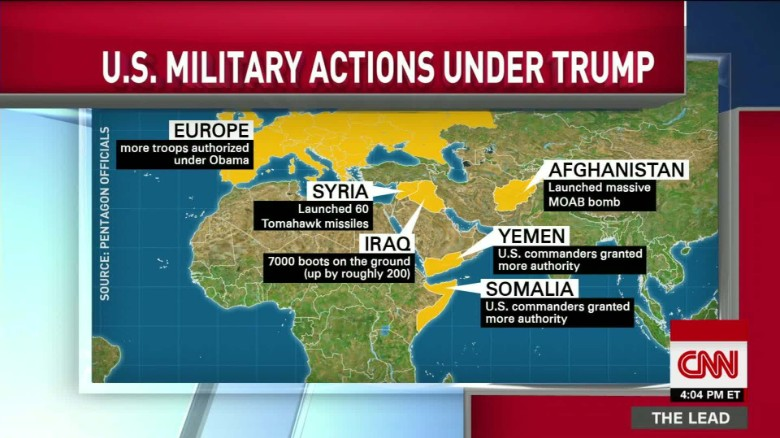 How Trump is empowering the military -- and raising some
