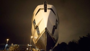 Ships in the night: A surreal encounter with a $27m super yacht