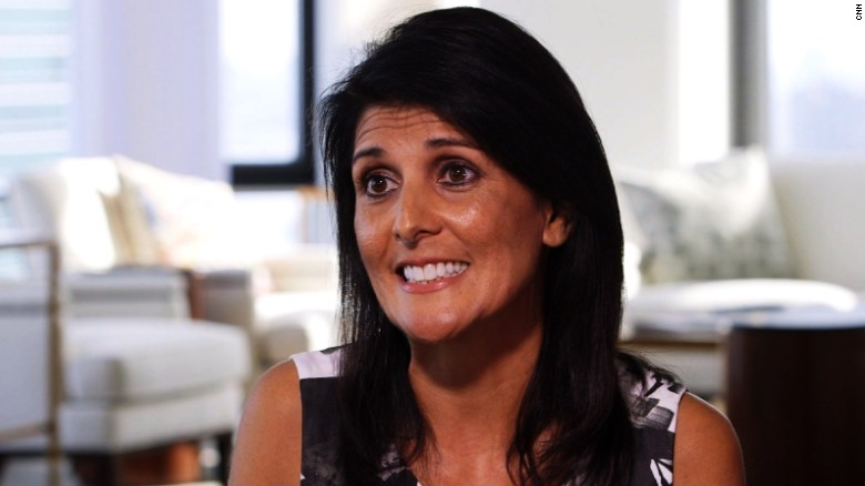 Nikki Haley says Trump doesn't limit her