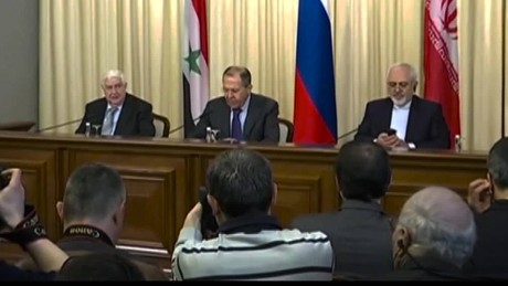 Lavrov to US Respect Syrian sovereignty