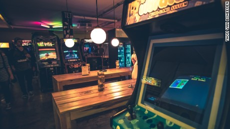 Retro arcade games and modern snacks are the pull at TonTon Club.
