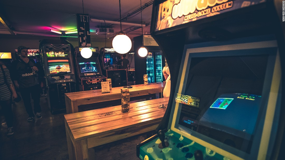 <strong>Game over: </strong>Retro arcade game fans will love to hang out at the TonTon Club.