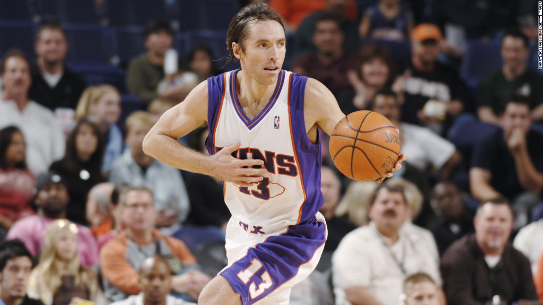 Steve Nash was drafted just two picks after Bryant in 1996. He became one of the league's best-ever point guards. Nash made eight All-Star teams in his career, and he was also the league MVP in 2005 and 2006.