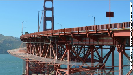 Suicide prevention net will save lives on Golden Gate Bridge