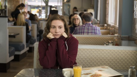 Lena Dunham in HBO's 'Girls'