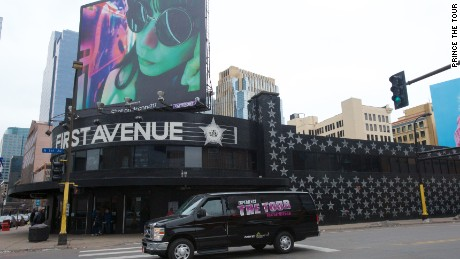 First Avenue is a legendary Minneapolis venue, where Prince played many times.