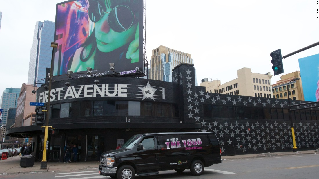 "<strong>First Avenue -- </strong>Prince played this legendary Minneapolis venue many times. Scenes from ""Purple Rain"" were filmed here, too."